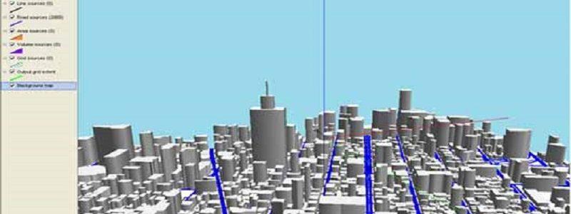 مدلسازی آلودگی هوا با نرم افزار ADMS